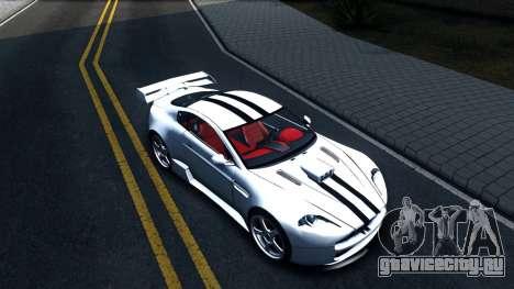 Aston Martin Vantage V8 для GTA San Andreas вид справа