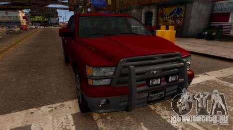 Bravado Bison для GTA 4 вид справа