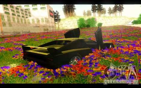 Гепард BIELAKWORKSHOP для GTA San Andreas вид сзади слева