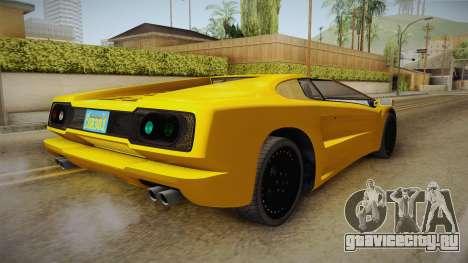 GTA 5 Pegassi Infernus Classic Cabrio для GTA San Andreas