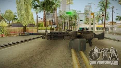 Battlefield 4 - M240B для GTA San Andreas