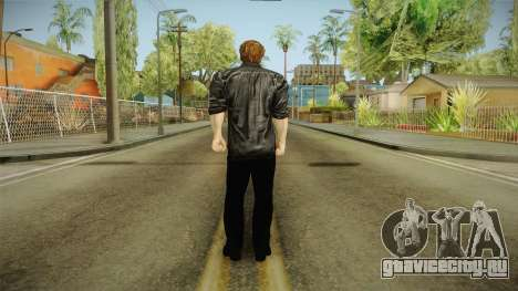 Logan in Black No Claws для GTA San Andreas третий скриншот