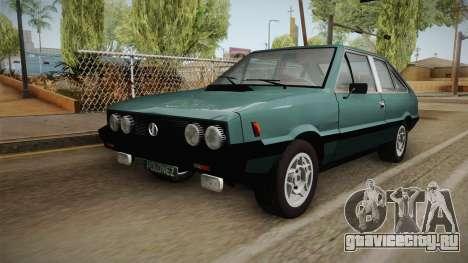 FSO Polonez Coupe 2.0X для GTA San Andreas вид сзади слева