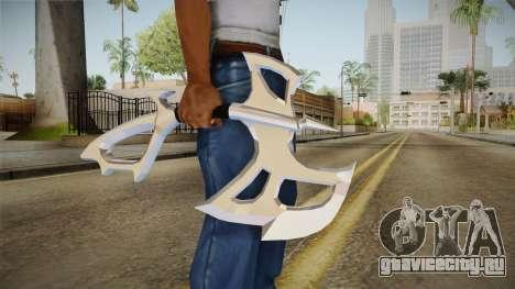 Chromed Battle Axe для GTA San Andreas третий скриншот
