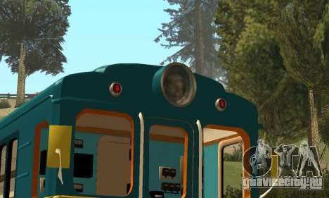 ST_M Метровагон типа Еж для GTA San Andreas