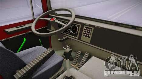 MAN F8 14.192 LHF для GTA San Andreas вид изнутри