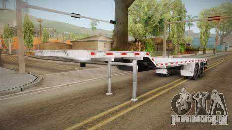 American Flatbed (Multiple) Trailer для GTA San Andreas