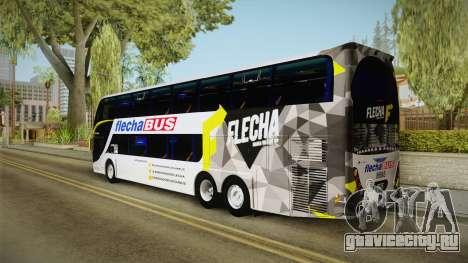 Starbus 2 Flecha Bus Egresados для GTA San Andreas вид слева