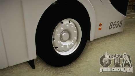 Starbus 2 Flecha Bus Egresados для GTA San Andreas вид сзади