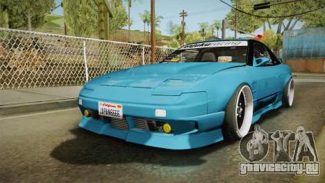 Nissan 180SX RPS13 Type-X для GTA San Andreas