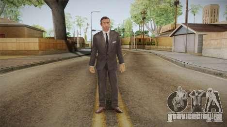 007 Sean Connery Grey Suit для GTA San Andreas второй скриншот