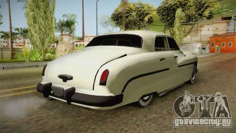 Mercury Monterey Sedan 1950 для GTA San Andreas вид сзади слева