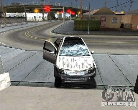 Insane car crashing mod для GTA San Andreas седьмой скриншот