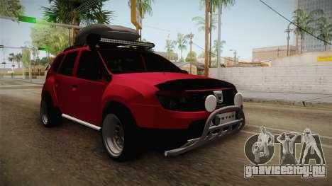 Dacia Duster Offroad для GTA San Andreas