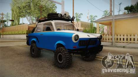 Trabant 601 4x4 Off Road для GTA San Andreas
