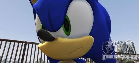 Sonic The Hedgehog для GTA 5 второй скриншот