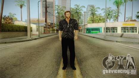 Logan in Black No Claws для GTA San Andreas второй скриншот