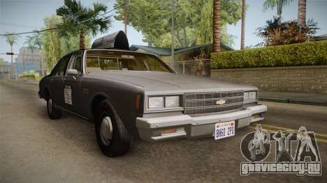 Chevrolet Impala Taxi 1985 для GTA San Andreas