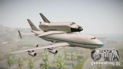 Boeing 747-100 Shuttle Carrier Aircraft для GTA San Andreas