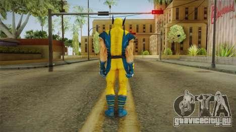 Marvel Heroes - Wolverine Modern UV No Claws для GTA San Andreas третий скриншот