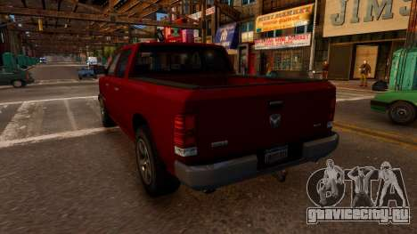 Bravado Bison для GTA 4 вид сзади слева