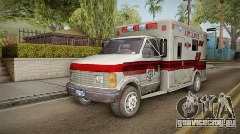 Resident Evil - Ambulance для GTA San Andreas