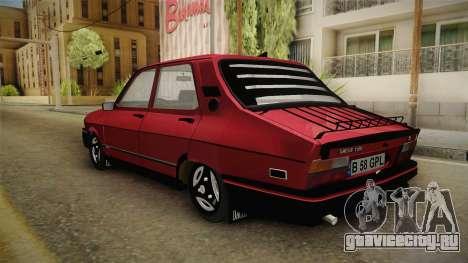 Dacia 1310 GPL для GTA San Andreas вид сзади слева