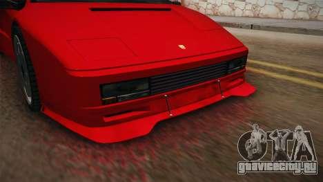 GTA 5 Pegassi Infernus Classic SA Style для GTA San Andreas вид сзади