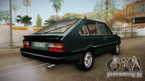 FSO Polonez Coupe 2.0X для GTA San Andreas вид справа