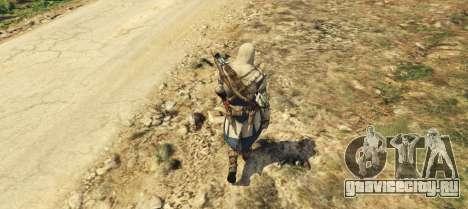 Connor Kenway Assassins Creed 3 для GTA 5 второй скриншот