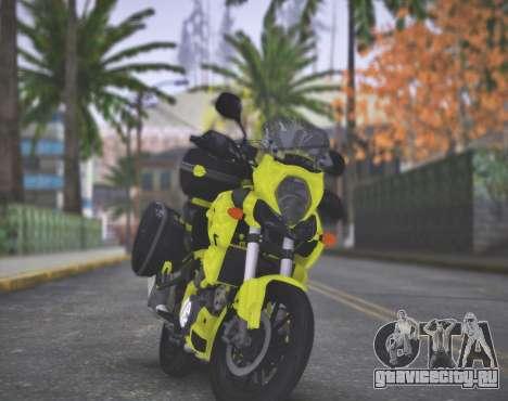 SUZUKI V-STROM 1000 для GTA San Andreas вид справа