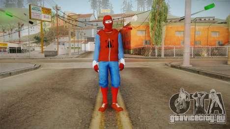 Spider-Man Homecoming - Home Costume (Fan Made) для GTA San Andreas второй скриншот
