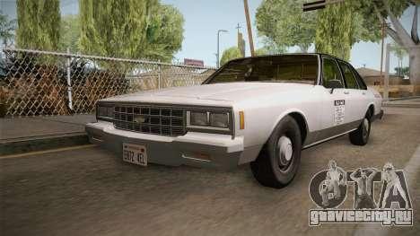 Chevrolet Impala Taxi 1985 IVF для GTA San Andreas