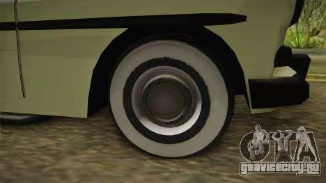 Mercury Monterey Sedan 1950 для GTA San Andreas вид сзади