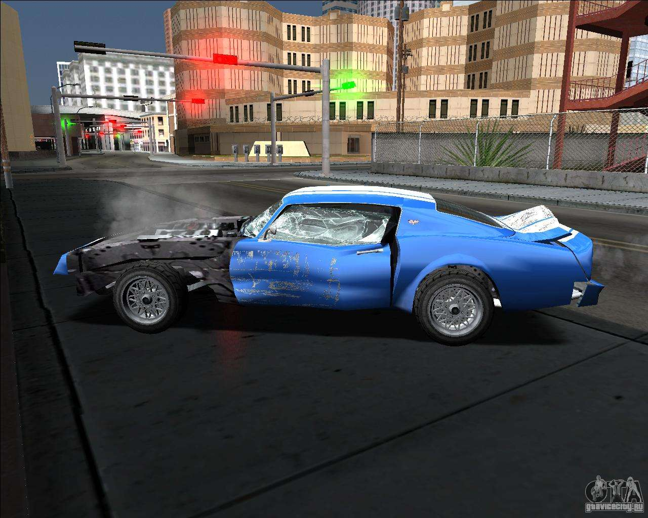 Car Crash Mod Gta Sa