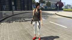 Faith Connors Mirrors Edge для GTA 5