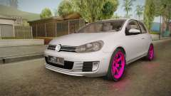 Volkswagen Golf Mk6 GTI для GTA San Andreas