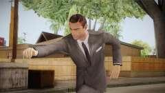 007 Sean Connery Grey Suit для GTA San Andreas