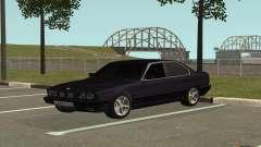 BMW M5 E34 чёрный для GTA San Andreas
