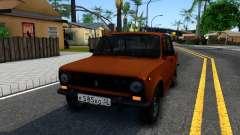 ВАЗ 2101 олива для GTA San Andreas