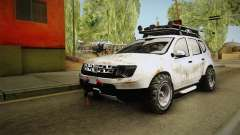 Dacia Duster Mud Edition для GTA San Andreas
