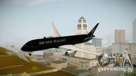 Boeing 787 Air New Zealand Black Edition для GTA San Andreas