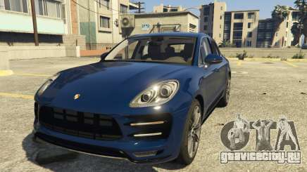 Porsche Macan Turbo 2016 для GTA 5