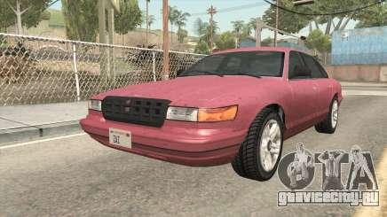 GTA 5 Vapid Stanier SA Style для GTA San Andreas