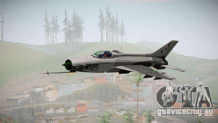 F-7 PG Pakistan Airforce для GTA San Andreas