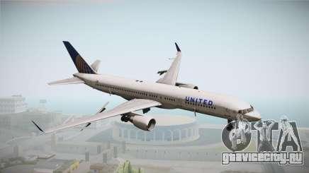 Boeing 757-200 United Airlines для GTA San Andreas