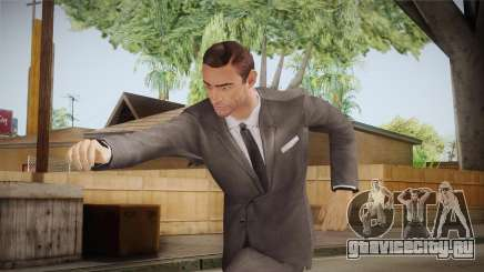 007 Sean Connery Grey Suit для GTA San Andreas