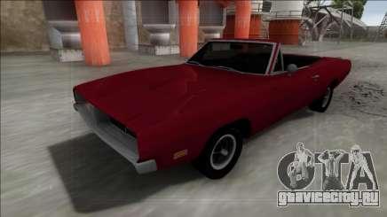 Dodge Charger RT Cabrio для GTA San Andreas