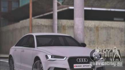 Audi RS6 2016 для GTA San Andreas