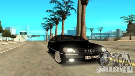Mercedes-Benz 600SEC для GTA San Andreas